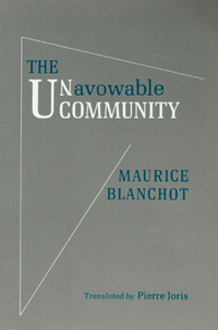 Unavowable Community, The