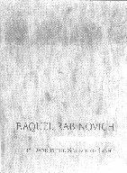 Raquel Rabinovich: The Dark is the Source of Light